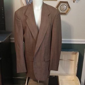 Dior 2 button brown blazer lined see measurements